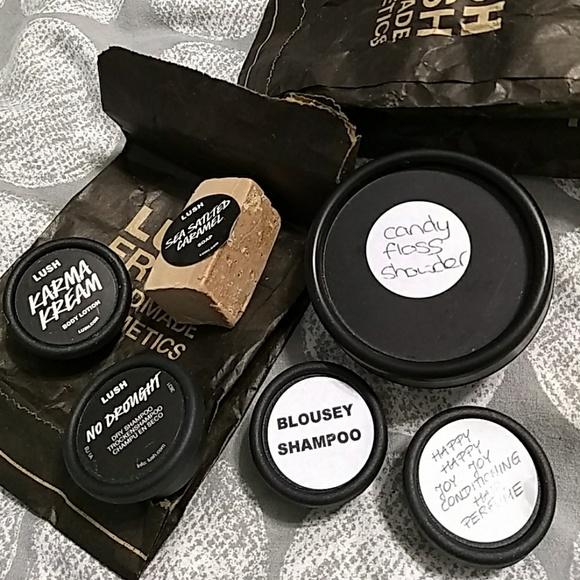lush cosmetics makeup lot of 6 samples poshmark